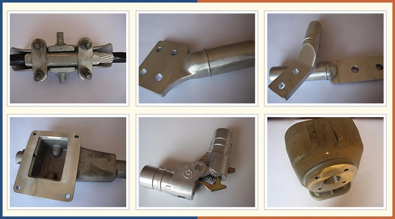 High quality custom best aluminum gravity casting valve parts product
