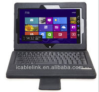 3.0 Bluetooth keyboard with touch pad folio case Compatible with ASUS ME400C