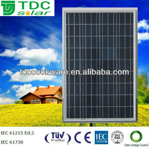 Polycrystalline solar module/panel 120w on sale