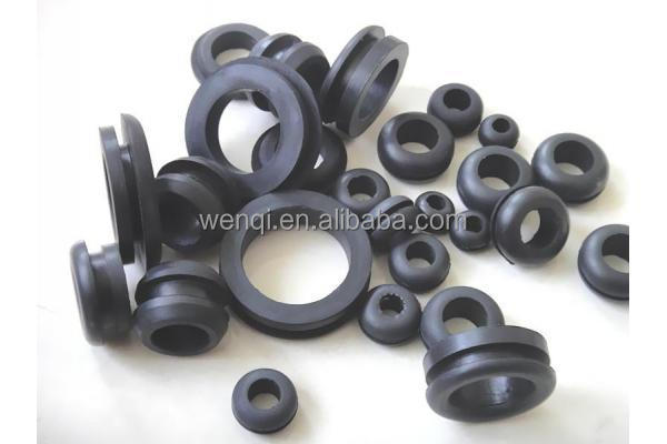 NBR/CR/NR/EPDM/Silicone/Viton/FKM rubber grommet