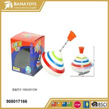 Hotselling flash music spinning top toy