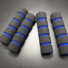 Rubber plastic coated custom made colorful handles grip