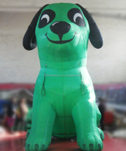 NEW Hot inflatabele dog model for desplay,promotional inflatable dog,outdoor inflatable dog