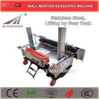 HOT! + Agent Wanted! MH Series Wall Mortar Automatic Rendering Machines, Plastering Machines with High Qauality and Low Price