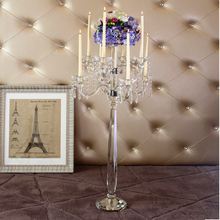 wedding table centerpieces flower stand candelabra crystal center table candlestick