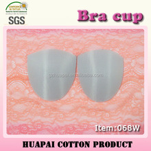 Ventilate anti-microbial sporty mesh fabric hard bra cups for sports bra