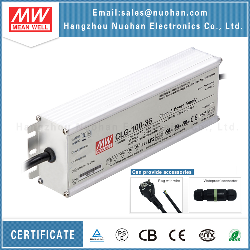Meanwell CLG-100-36 led power supply led driver transformer 100w 36v