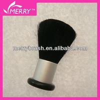 Plastic handle natural bristle face brush