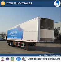 40ft refrigerated trailer for meat transportation