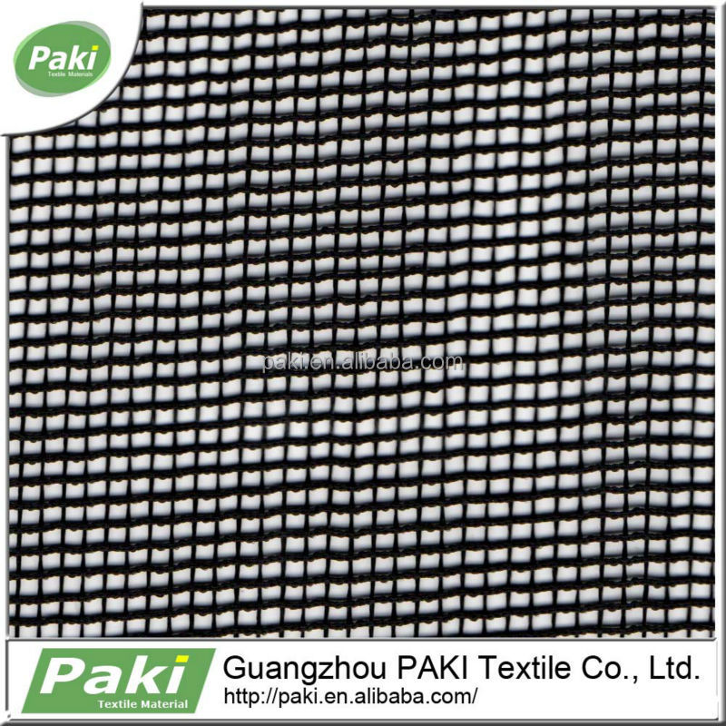 fashionable 100gsm stretch polyester heavy mesh fabric for bag