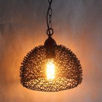 Metal hanging pendant light,lampe suspension