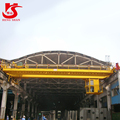 high quality double girder motor-driven overhead crane 60 ton