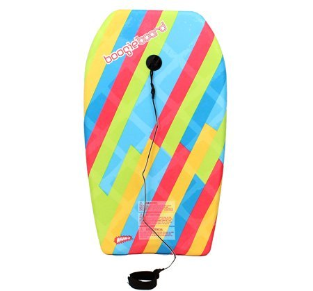 2017 Boogie Board Younger 37 inch Body Board with Leash, EPS Core and Slick Bottom beach
