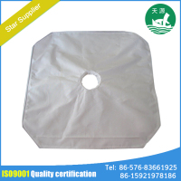 China White Polypropylene Press Filter Cloth For Steel Industry