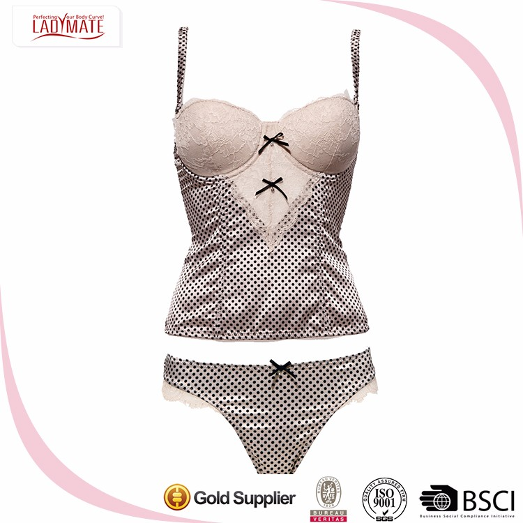 New Design Fashion Low Price Ladies Sexy Panty And Bra Sets