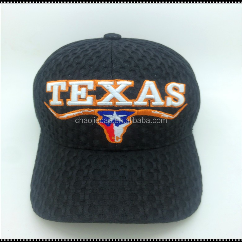 high quality Wholesale Custom Embroidery mesh baseball cap
