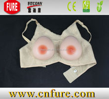 adhesive silicone 100% pure prosthesis large breast forms