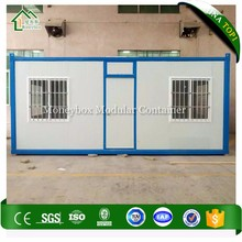 Easy To Install Prefabricated Plastic Composite Building