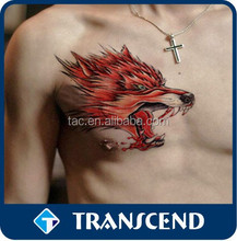Transfer Body Art Temporary Black Tattoo/Tattoo Sticker Type and Temporary Feature body art