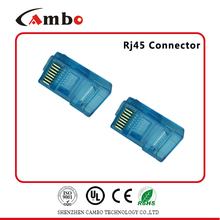 UTP/FTP Free sample Gold plating 3u,6u,15u,50u network cable /lan cable conector rj45 cat6