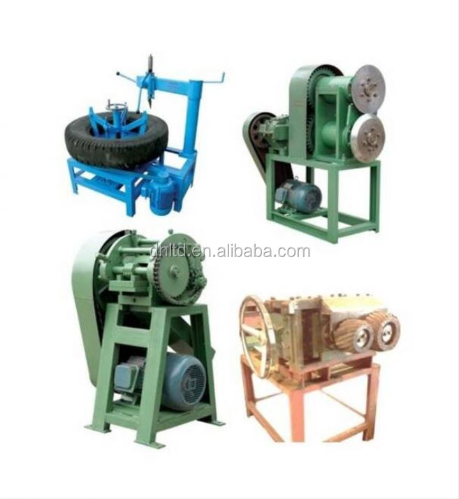Fully-- automatic Waste Tire Recycling Line / Crumb Rubber Grinding Machine / Rubber Powder Production Line