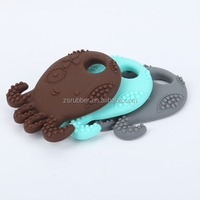 suitable for 36 months Natural rubber wooden pacifier clip
