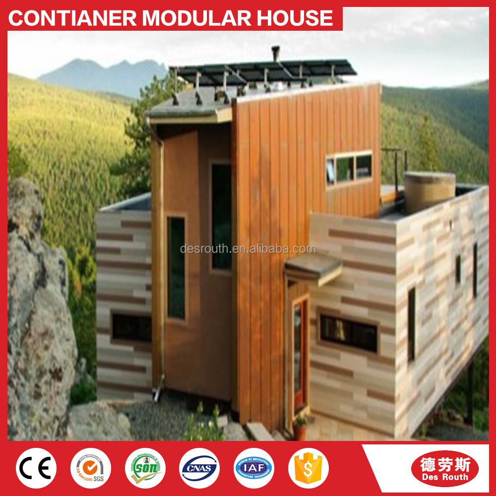 canadian style prefab house luxury container home from China supplier