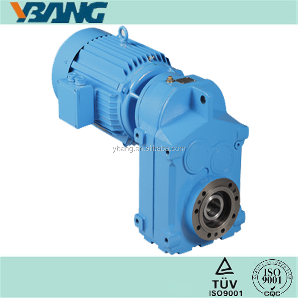 F series Parallel Shafts Helical Two Stage Drill Speed Gearbox