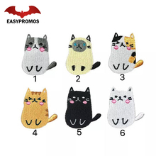 Customized Embroidery Patch Products Creative Design Embroidered Cat Patch