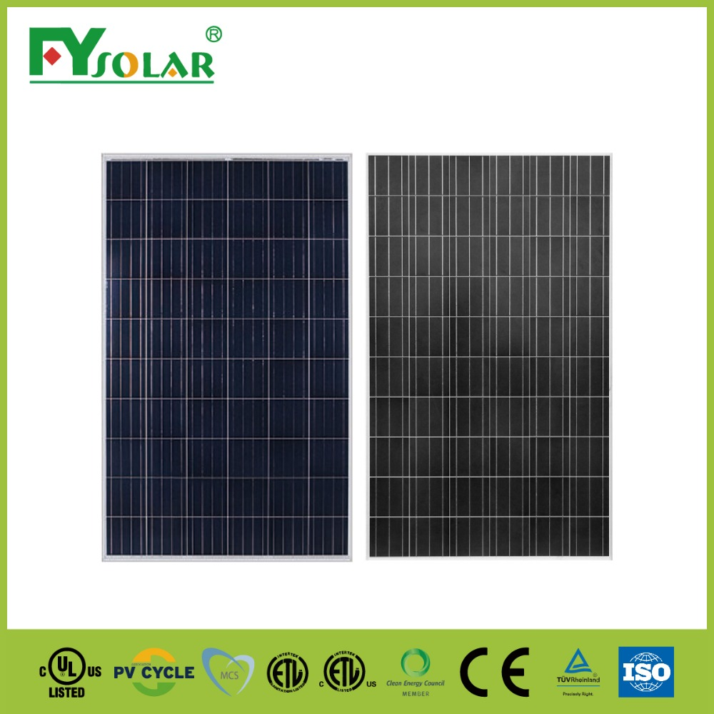Best price poly 270W solar panel manufacturers in China solar panel off grid