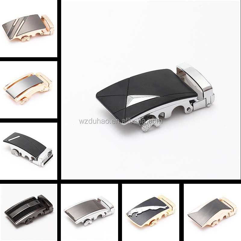 Fashion Wholesale Man Geuine Leather Belt's Automatic Belt Buckle Parts