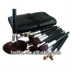 34 Piece Professional Cosmetic Make up Brushes Set
