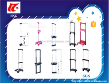 Fashion luggage telescopic trolley handle for bag parts retractable luggage handles