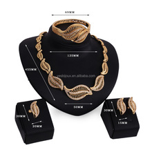 factory wholesale african gold plating full jewelry sets