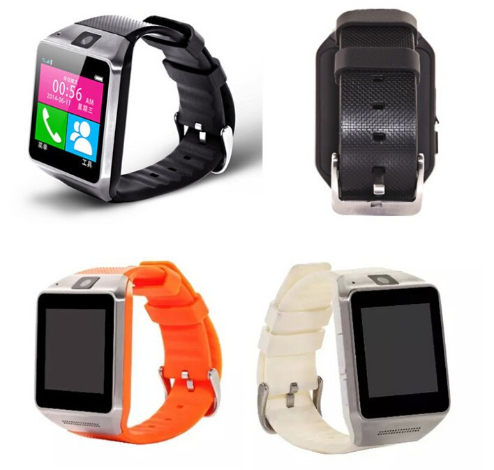1.54 Inch HD Screen GSM smart watch phone GV18 for android iPhone