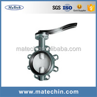 China Gear Box Operated Soft Sealing Concentric Butterfly Valve With Prices