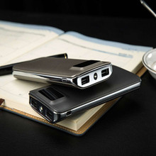 Portable 9000mah Mobile Power Bank with Double USB Ports for All Phones