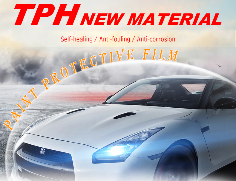Carlas car wrapping PPF paint protection film for car body
