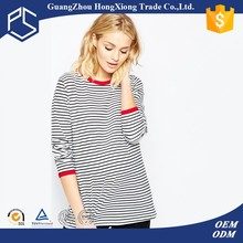 Stripe maternity super soft cotton t-shirts