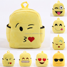 Wholesale Kids Plush Emoji <strong>Backpack</strong> For Kids