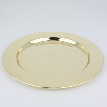 Factory wholesale gold wedding bulk charger plates