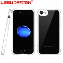 LEEU DESIGN wholesale high quality TPU protect anti shock acrylic tpu case for iphone 7