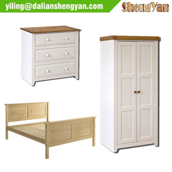 High quality popular hotel morden pine bedroom furniture for Cheap quality bedroom furniture