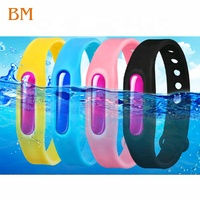 Mosquito Bracelet Repellent Plant Essential Oil Anti mosquito Silicone Waterproof Wrist Band