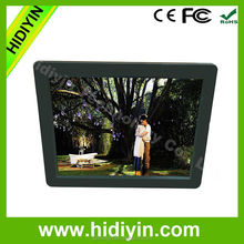 "Video Playback,motion sensor to power on/off automatically Function and 12"" Size digital photo frame"