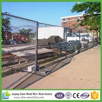 12FT LONG X 6FT TALL Portable Chain Link Fence Panels