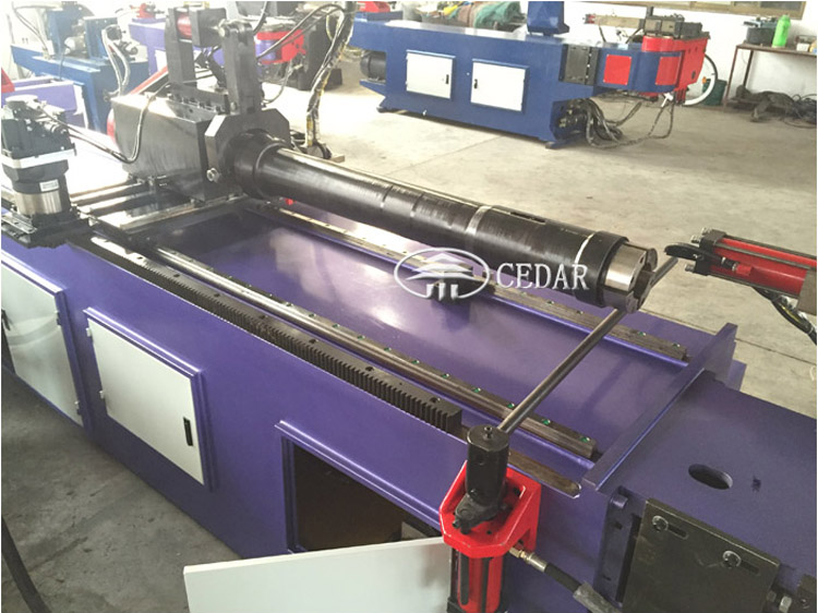 3 inch pipe bender DW-75 CNC hydraulic pipe benders for sale