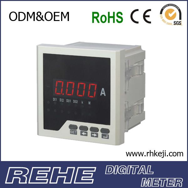 Digital Ammeter Panel Mount : Analog panel meter voltmeter ammeter amperimetro dc mount