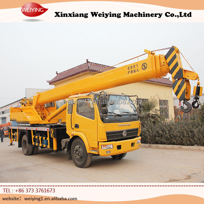 truck crane with lifting height 29.8m