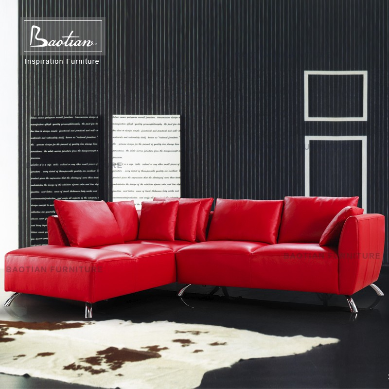 Italian leather sofa manufacturers cheer sofa furniture for drawing room